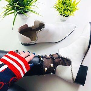Halogen Nordstrom Piper Ankle Boots Zipper Edges